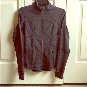 Lululemon Define Jacket in Black and Gray Print